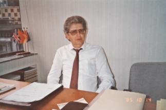 1985   Im Büro