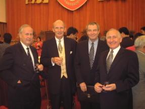 2002 - 50 Jahre CCPIT - links Pter Hartlieb & Ernst Behrens