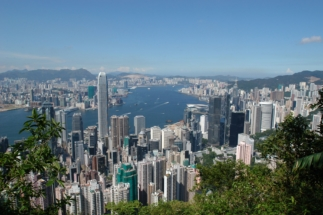 2015   Hongkong - Blick vom Peak