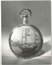 1830   Uhr mit Dschunkenmotiv. Manufaktur Bovet, Fleurier, Schweiz -® bovet.com