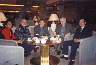 1995   Shanghai links meine Frau u. Werner Noll