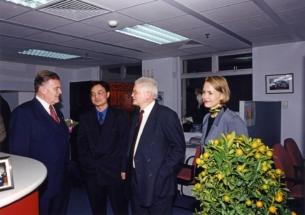 1999   Beijing Büroeröffnung mit MP Teufel